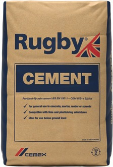 Rugby Standard Cement 25KG Bag