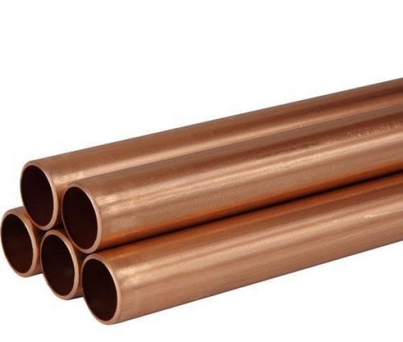 22mm X 3M Plain Copper Tube Table X Per M