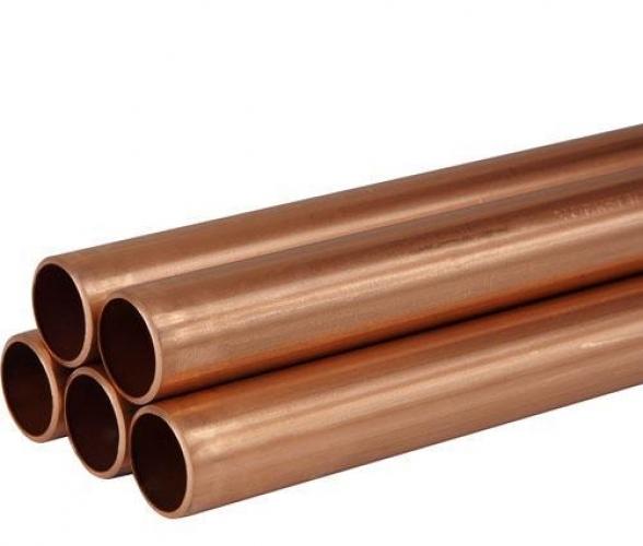 28mm X 3M Plain Copper Tube Table X Per M