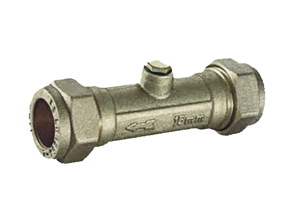 H&B 15mm Copper TO Copper Double Check Valve