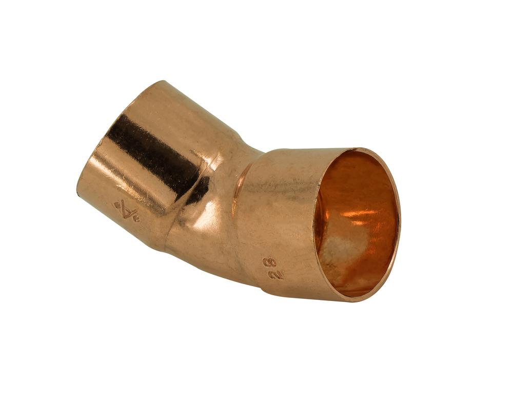 Endfeed Wras 35mm 606 Elbow 45DG (c)
