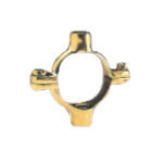 54mm X 10mm Brass Double Ring Clip 49M 107DM
