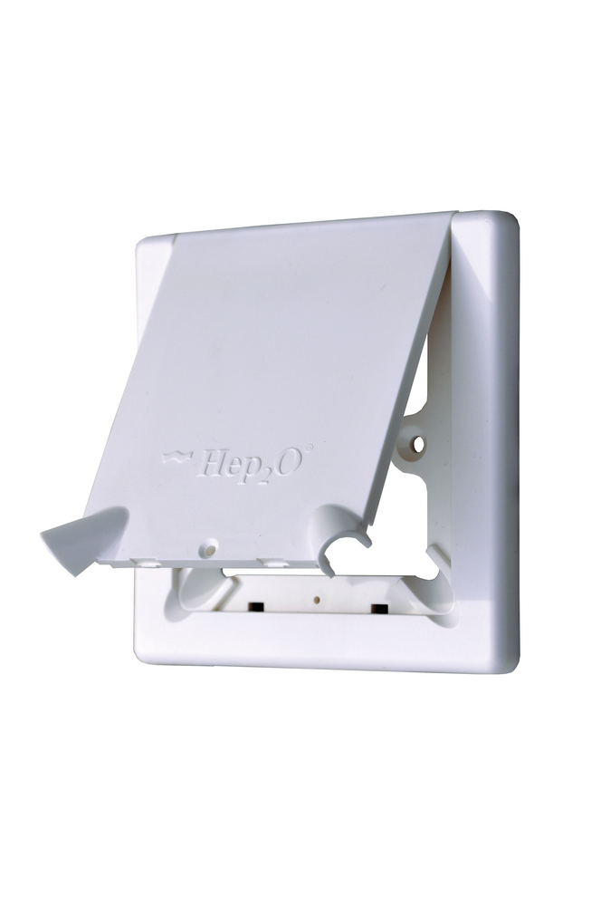 Hep2o Hx113 Radiator Outlet Cover Plate Comes With Flap Harris Amp Bailey Ltd