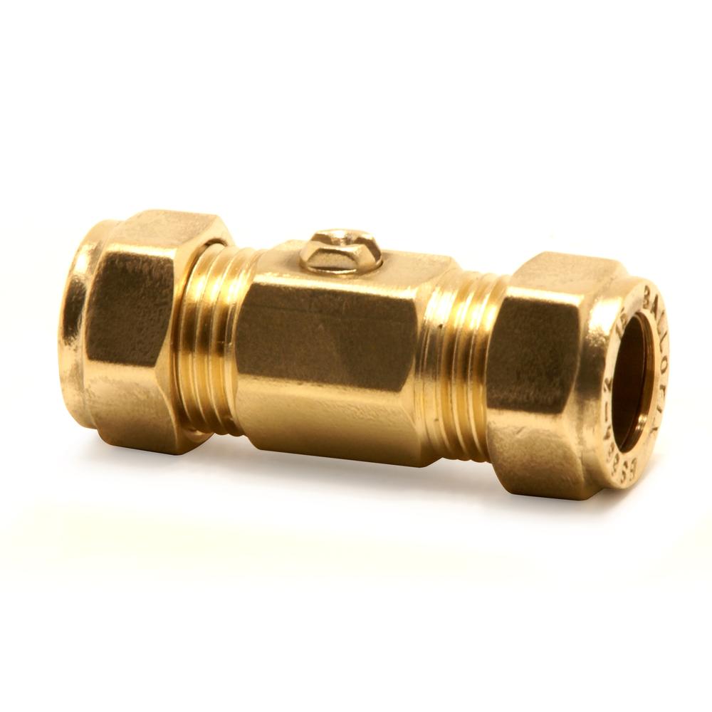 Ballofix 3481YA 22mm Copper TO Copper Brass