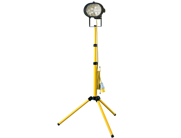 Faithfull 500TL Sitelight & Adjustable Stand 110V