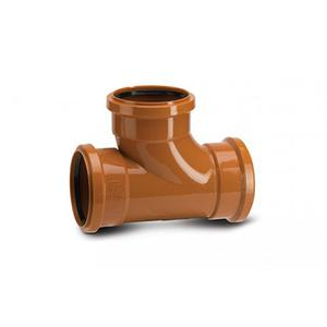 Polypipe UG423 Equal Junction Triple Socket 87.5DG 110mm