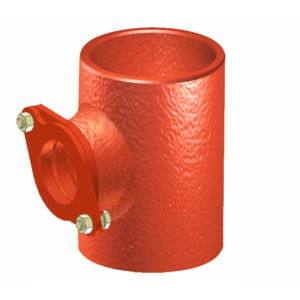 Ensign Above Ground 156573 Boss Pipe 100x50mm Single