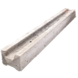 Slotted Concrete Fence Post 2.4M