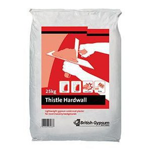 Thistle Hardwall 25KG