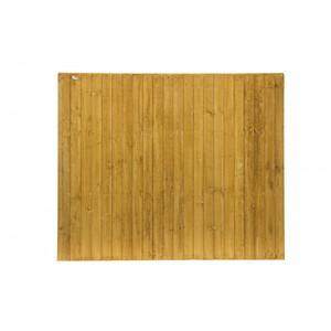 1.83M X 1.83M Feather Edge Fence Panel