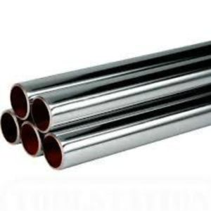 54mm X 3M Chrome Copper Tube Chrome Plate Table X Per M