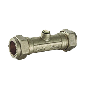 H&B 22mm Copper TO Copper Double Check Valve