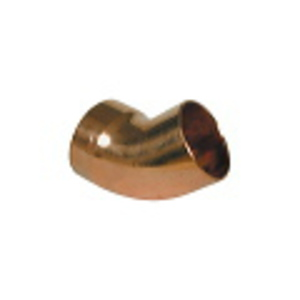 Endfeed Wras 22mm 6062 Street Elbow 45DG (c)