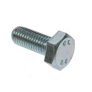 BZP Bolt M16 X 40mm Hex Set Bolt