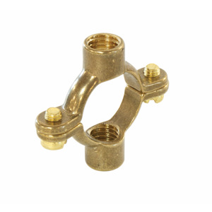 15mm X 10mm Brass Double Ring Clip 49M 107DM
