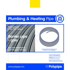Polyplumb PB8015B 15mm X 80M Barrier Coil