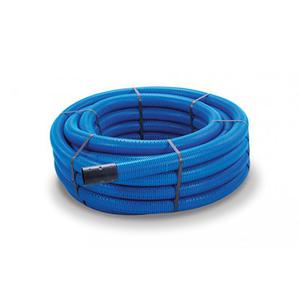100M Coil Blue Poly Tube 25mm Diameter