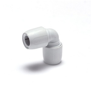 HEP2O Demountable HD5W 15mm Elbow White