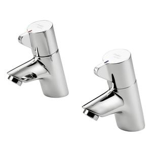 Nuastyle Piccolo 21 Basin Taps B8262AA Pair