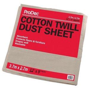 Dust Sheet Cotton 3.6X2.7M 12X9'